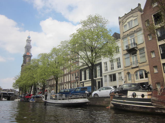 Canal tour Amsterdam