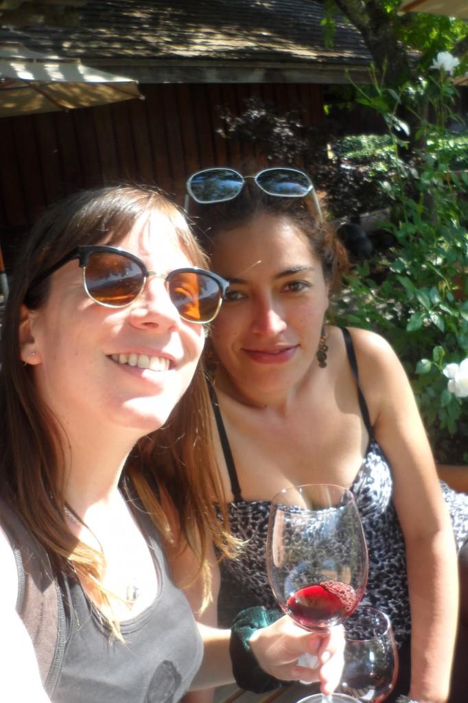 Rosario and Silvia Ferrada