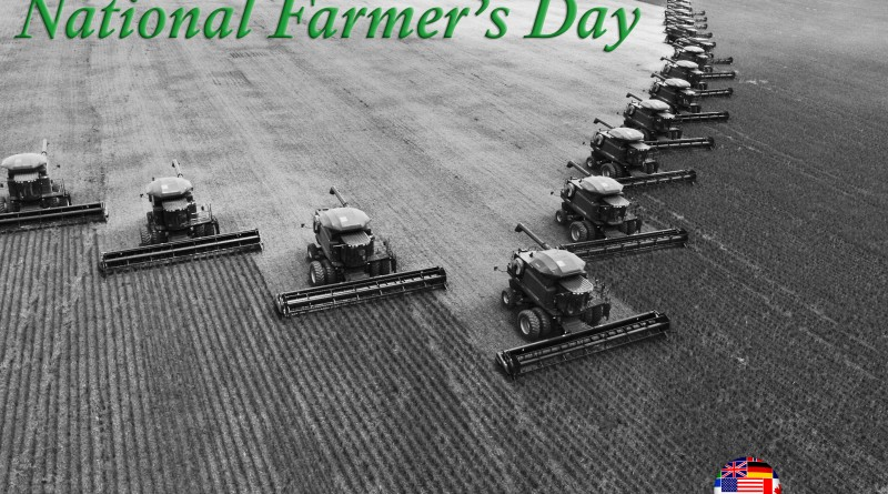 Happy National Farmer's Day!