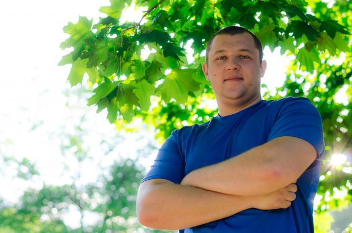 Yevhenii Marchenko, CAEP Agriculture Trainee from Ukraine