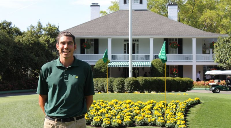 Meet CAEP Turf Management Trainee, Stefan Carter from the United Kingdom
