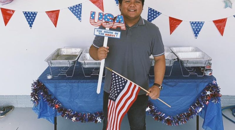My First Fourth of July- Meet JG from the Philippines